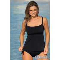 Full Figure Tankini Plus Bikini