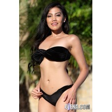 Easee Fit Twist Black Velvet Bikini