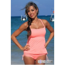 Coral Full Figure Tankini