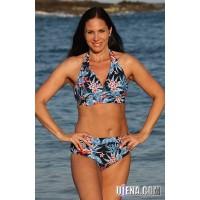Tropicana Navy Cabana Bikini