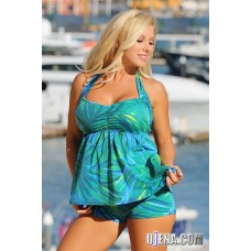 Palm Island Tankini Plus