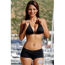 Black Cheeky Short Bikini