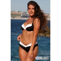 Black And White Calypso Bikini