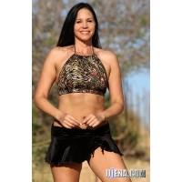 Royality Velvet Skirted Bikini