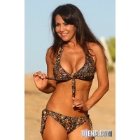 Bahia Fantasy Jungle Olive Bikini